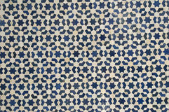 Arab mosaic. Moroccan style mosaic - Best of Morocco royalty free stock photo