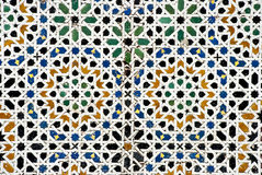 Arab mosaic Royalty Free Stock Photography