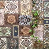 Arab mosaic floor Royalty Free Stock Images