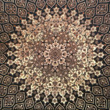 Arab mosaic floor royalty free stock photography