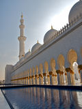 Arab mosque. Sheikh Zayed mosque at Abu-Dhabi, UAE stock images