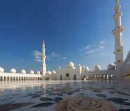 Arab mosque. Sheikh Zayed mosque at Abu-Dhabi, UAE stock photography