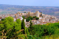 Arab-Norman Castle in Sicily Stock Images