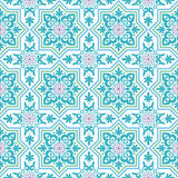 The Arab pattern. Arabesque. Pattern in Moorish style. Arab seamless texture. Element of design. Islamic  background Royalty Free Stock Images