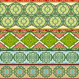 Arab patterns Stock Image