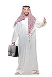 An arab person with a thumbs up Royalty Free Stock Image