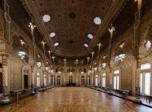 Moorish Revival Arab Room in the Bolsa Palace. Arab Room in the Bolsa Palace, built between 1862 and 1880 by Goncalves e Sousa in the exotic Moorish Revival royalty free stock image