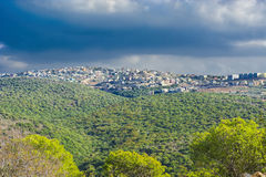 Arab Settlement in Israel Stock Photos