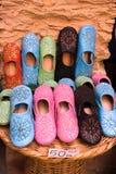Arab shoes Royalty Free Stock Photo