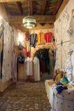 Arab shop stock image