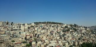 Arab Silwan Neighborhood - East Jerusalem Royalty Free Stock Image