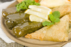 Arab Snacks Royalty Free Stock Photography