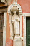 Arab Statue, Venice Royalty Free Stock Images