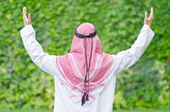 Arab on the street Stock Photography