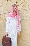 Arab on the street Royalty Free Stock Image