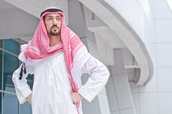 Arab on the street. In summer Royalty Free Stock Photos