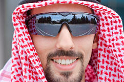 Arab on the street. In summer Stock Images
