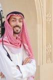 Arab on the street Stock Photo