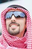 Arab on the street Royalty Free Stock Photo