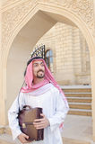 Arab on the street Royalty Free Stock Photo