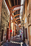 Arab Street in Dubai Stock Images