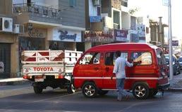 Arab street. Egypt. Hurghada Royalty Free Stock Images