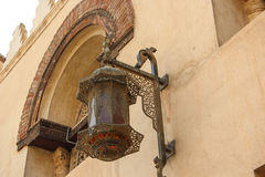 Arab street lanterns in the city of Cairo in the Egypt Royalty Free Stock Photos