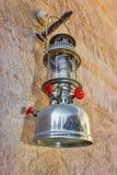 Arab street lanterns in the city of Dubai Royalty Free Stock Photos
