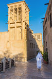 Arab Street in the old part of Dubai Stock Photo