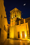Arab Street in the old part of Dubai Royalty Free Stock Image