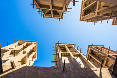Arab Street in the old part of Dubai Royalty Free Stock Photo