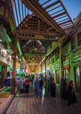 Arab Street in the old part of Dubai Stock Image