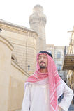 Arab on  street in summer Stock Photography