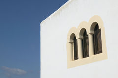 Arab style windows. Royalty Free Stock Images