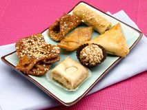 Arab sweets Stock Images