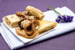 Arab sweets Stock Photos