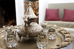 Arab tea pot Royalty Free Stock Photo