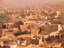 Arab town stock photo