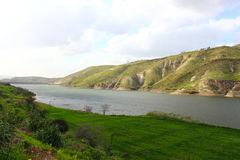 Arab Valley Dam Stock Photography