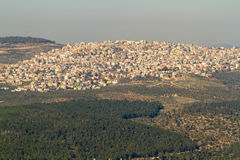 Arab village at the foot of Mount Tabor Royalty Free Stock Image