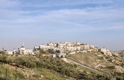 Arab Village of Sur Baher in Jerusalem Royalty Free Stock Images