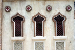 Arab Windows. Arab / Middle Eastern style windows stock images