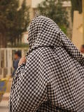 Arab woman. In traditional dress, Morocco, North Africa Stock Photography
