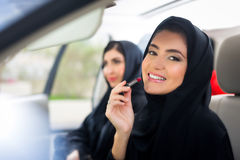 Arab Woman with mackeup Royalty Free Stock Photography