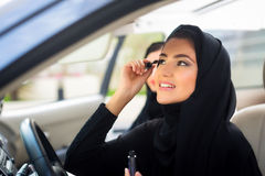 Arab Woman with mackeup Royalty Free Stock Photos