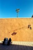 Arab women. Marrrakech Medina, Maroc, Africa Royalty Free Stock Images