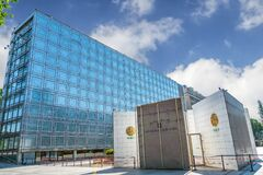 Arab World Institute building in Paris