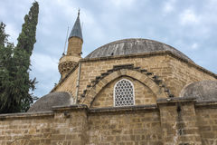 Arabahmet清真寺,尼科西亚,塞浦路斯 免版税图库摄影