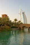 Arabe d'Al de Burj d'hôtel de luxe   Photographie stock libre de droits