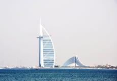 Arabe d'Al de Burj, Dubaï Photos stock